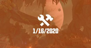 borderlands 3 patch 16 janvier 2020