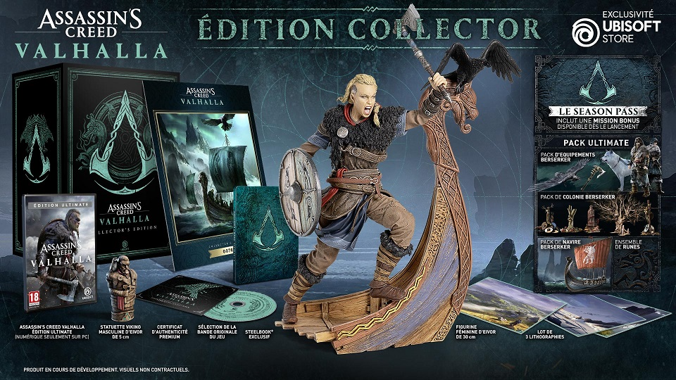 AC valhallah edition collector