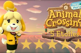 Animal crossing 5 étoiles