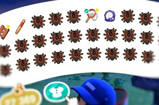 animal crossing Guide scorpions Tarentules