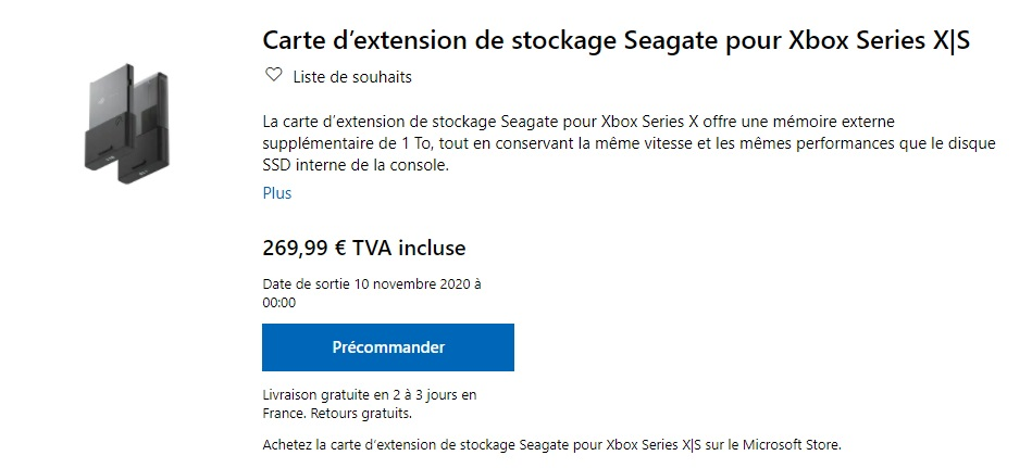 Seagate - 1TB Game Drive for Xbox Series X and Series S