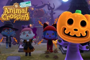 animal crossing hallowwen