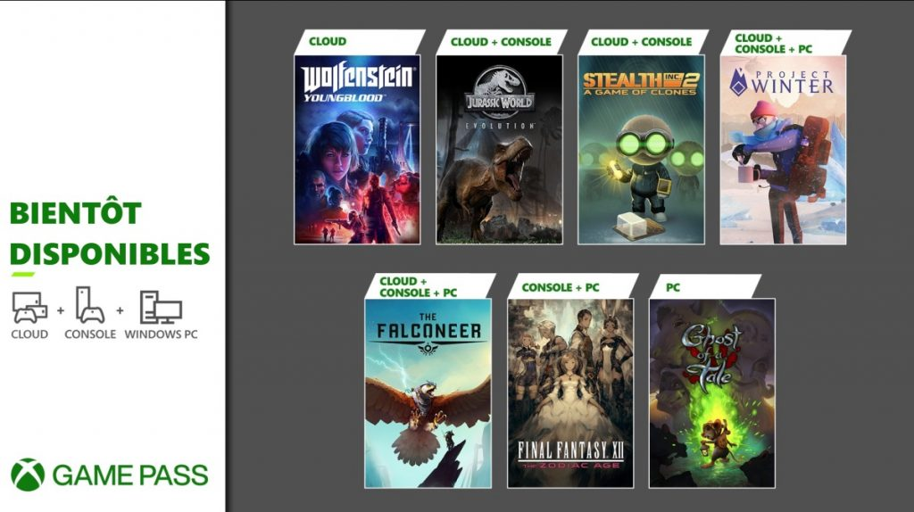 xbox game pass fevrier 2021