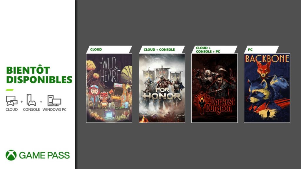 Xbox Game Pass Console PC Juin 2021